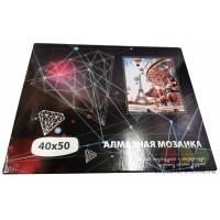 Алмазная мозаика по номерам, 40*50 см