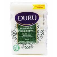 DURU PURE&NAT мыло Класс(э/пак)4*85г