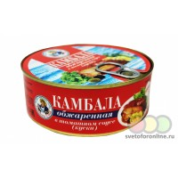 Камбала обжаренная в томатном соусе (куски) 240г ж/б ГОСТ Балт Фиш плюс
