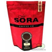 Кофе раств. сублим. La Sora 200 гр ZIP пакет