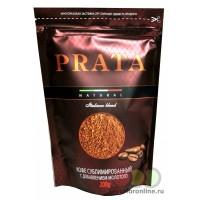 Кофе раств.сублим. с добавлением молотого PRATA 200г ZIP пакет