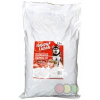 Корм для собак сухой ХЭППИ ЛАНЧ со вкусом говядины 15 кг