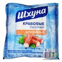 "Крабовые палочки ""Шхуна"" зам 500 гр."