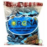 Мультизлаковые конфеты LORENA c белой глазурью 500г