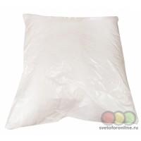 Подушка лебяжий пух 70*70 вес 1300 гр ткань верха прессатин