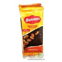 Шоколад Яшкино с орехом 90г/3шт ООО КДВ Групп
