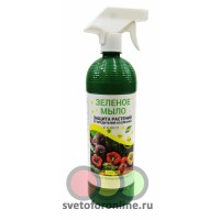 Зеленое мыло 1л с рыспылителем